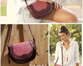 ANNA MINI cross body leather bag