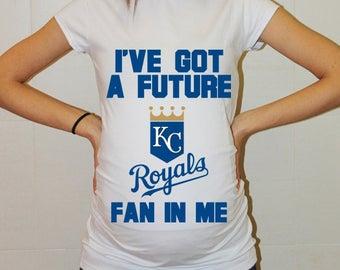 Kansas City Royals Baby Kansas City Royals Shirt Boy Baby Girl Maternity Shirt Baseball Maternity Clothing Pregnancy Baby Baby Shower
