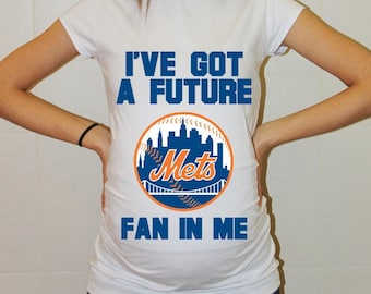 New York Mets Baby New York Mets Shirt Women Maternity Shirt Funny Baseball Pregnancy Pregnancy Shirts Pregnancy Clothing
