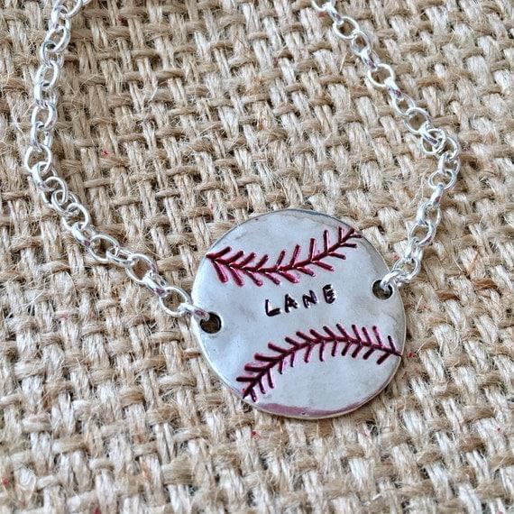 Baseball Bracelet, Custom Team Bracelet, Team Mom Bracelet, Baseball Mom Jewelry, Team Name Bracelet, Custom Mom Bracelet, Name Bracelet