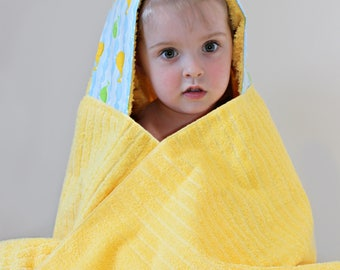 Unisex Baby Gift - Towel Hoodie - Baby Shower Gift - Hooded Towel - Baby Unisex - Infant Hooded Towel - Gender Neutral Baby Gift - Baby Gift