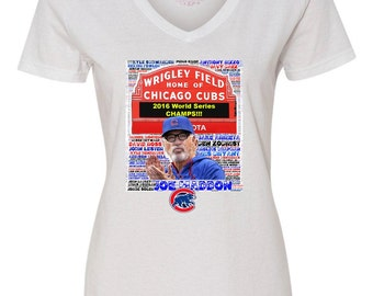 Cubs World Series Shirt, 2016 Cubs World Series Shirt, Wrigley Field Shirt, Cubs Roster Shirt