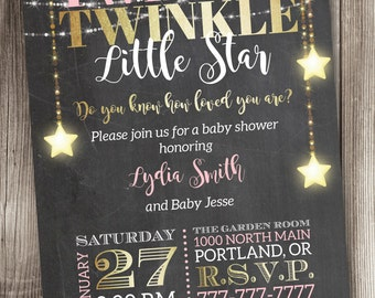 Princess Baby Shower Invitation Little Princess