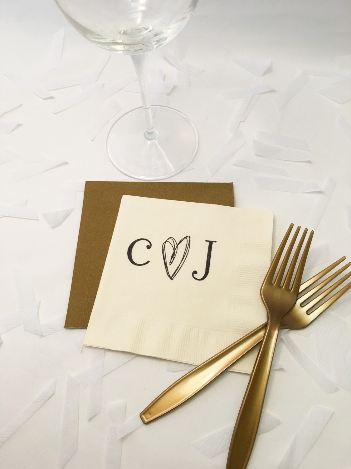 rustic wedding napkins personalized napkins monogram