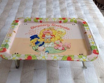 Strawberry Shortcake Tray-Bed Tray-Snack Tray-TV Tray