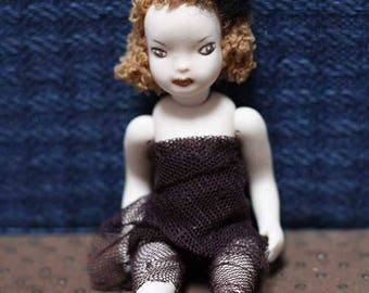 porcelain art doll