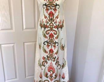 XS/S Batik Print Repro Cheongsam Dress 33/28/35