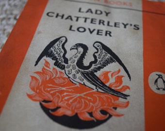 Lady Chatterley's Lover. D. H. Lawrence. A Vintage Orange Penguin book 1484. 1960