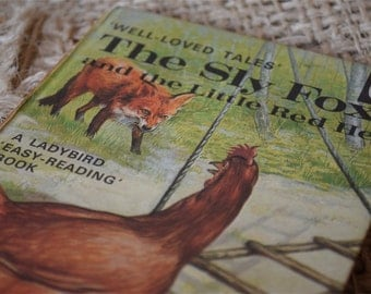 The Sly Fox and the Little Red Hen. Well Loved Tales.A Ladybird Book. Series 606D