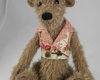 Teddy bear, Artist Bears, bear collection, unique, Handmade bear, OOAK, Tammy Mohair
