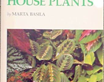 A Book About House Plants by Marta Basila
