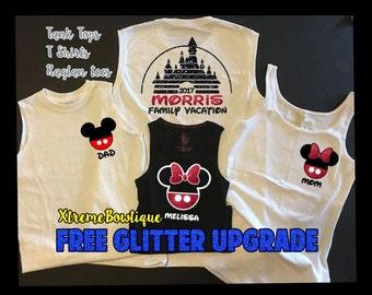 Disney Family Shirts, Magic Kingdom Shirts, Custom Disney Shirts, Personalized Disney Shirts, Disney World Shirts, Fast Shipping
