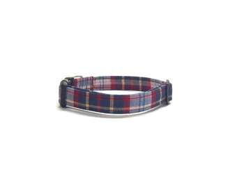 Old Man Plaid Dog Collar