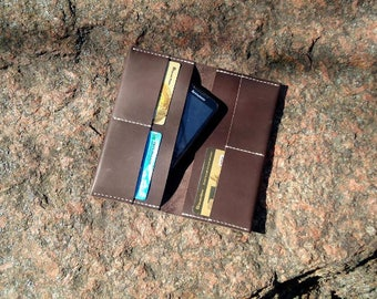 gift for mom Girlfriend gift Wife gift anniversary gift Leather wallet sister gift best friend gift Gift for wife phone wallet travel wallet