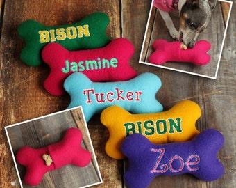 Personalized Dog Toy - Custom Dog Toy - Stuffed Dog Toy - Treat Pocket Dog Toy - Squeaker Dog Toy - Name Dog Toy - Dog Toy with Name