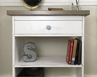 Nightstands, Nightstand, Farmhouse, Bedside Table, Bedside Tables, End Tables, End Table, Night Stand, Side Table, Night Table, drawer