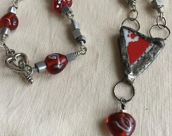 Tough Love necklace
