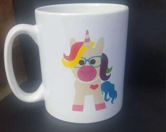 Be a Unicorn in a world full of sheep Mug.