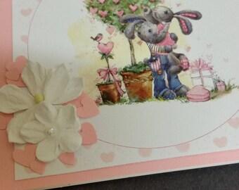 Hand made Happy Birthday Card