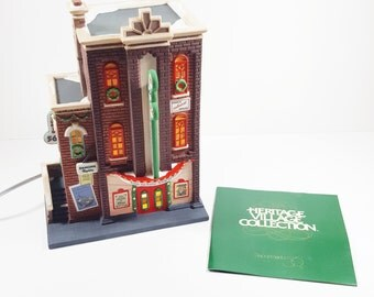 Vintage Retired Department 56. Heritage Village Collection. Christmas in the City Series. Hi-De-Ho Nightclub. Vintage Christmas.