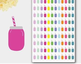 Smoothie Stickers, Smoothie Planner, Smoothie Planner Stickers,Smoothie Cup, Smoothie Time, Beverage Stickers, Raw Fruit, Drink Sticker
