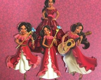 Princess of Avalor Elena 4 piece die-cut set
