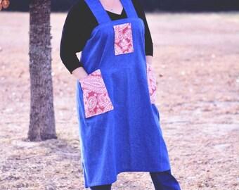 Country Flair Denim Apron {Farm Girl Work Apron} | Ready to Ship!