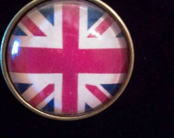 Union Jack Pendant Necklace