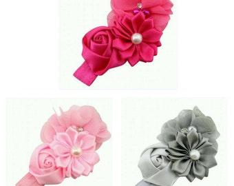 Babies Kid's Headband Flower, Rose