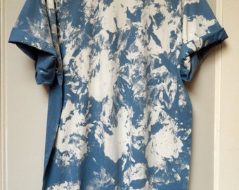 Tie Dye T-Shirt acid wash T-shirt hipster marble Retro 90s dip dye Galaxy top