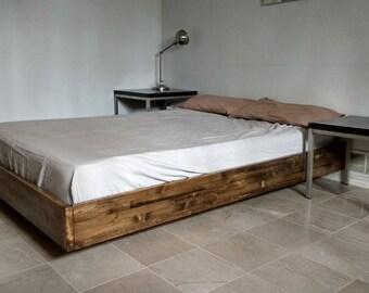 Floating bed   Etsy