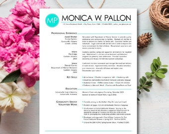 Resume Design, Professional Resume, Sorority Resume, Sorority Packet,  Modern Resume, Creative  Sorority Recruitment Resume