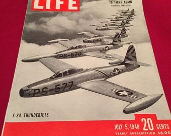 Vintage 1948 dated LIFE Magazine