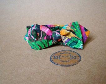 Bow tie adjustable tie jungle