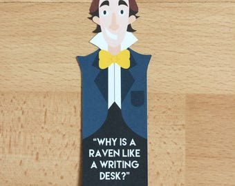 Alice in Wonderland Bookmark 'Madhatter'
