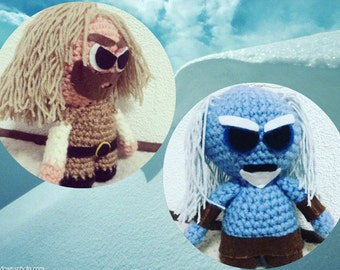 Tyrion Lannister, White Walkers, A Song of Ice and Fire, fantasy hero, Game of Thrones, George RR Martin, Tywin Lannister, amigurumi