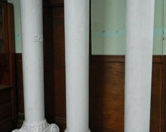 Victorian Column, Architecture Salvage, Porch Post Column, Antique Column Exterior Column Carved Wood Pillar Scroll Capital Old Greek Column
