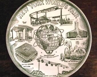New York World's Fair Collector Plate 1965