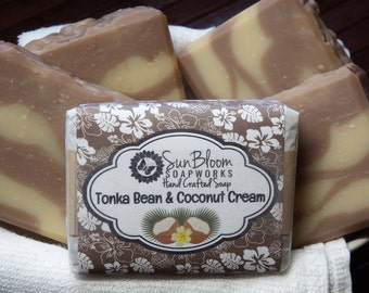 Tonka Bean & Coconut Cream Soap