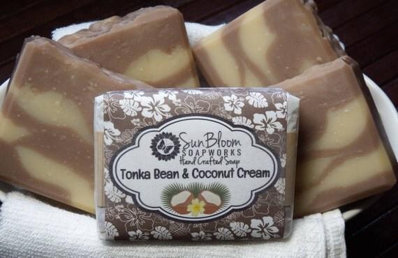 Tonka Bean & Coconut Cream Soap