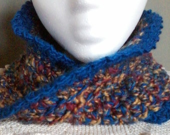 Infinity Crocheted Neck Warmer