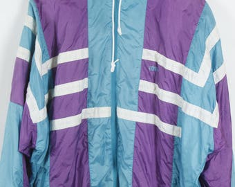 Vintage jacket, 90s windbreaker, ETIREL vintage, 90s clothing