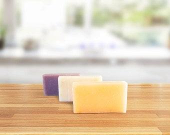 ORGANIC SOAP SET - Soap Gift Set- Organic Baby Gift Set - Vegan Soap Gift