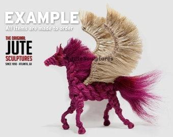Jute Pegasus - Large - Color Blended