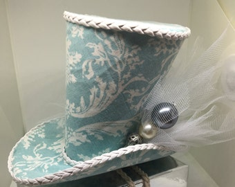 French Marie Antoinette inspired mini top hat