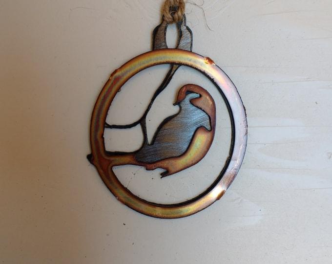 Warbler Ornament