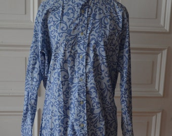 Vintage late 1960s psychedelic tunic for men