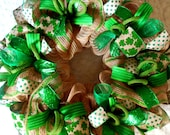 St. Patricks Day Wreath, St. Patricks day, St Patrick's day wreath, St Patricks wreath, St Patrick wreath, St. Patricks Day
