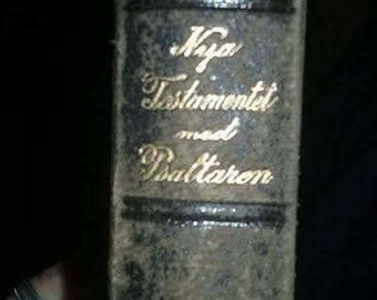 1907 Norwegian New Testament Bible