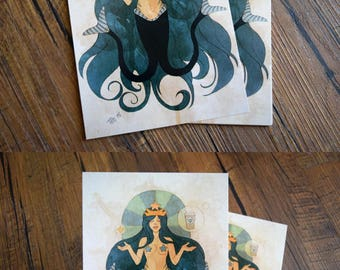 Starbucks Mermaid 5x7 Art Print